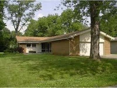 Indianapolis Single Family Home For Sale: 4855 Victoria Road