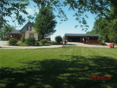 Madison County Single Family Home For Sale: 8530 West 500 Road N