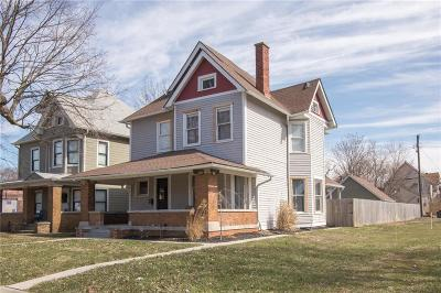 Indianapolis Single Family Home For Sale: 2351 North College Avenue N