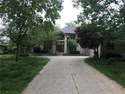 Indianapolis Single Family Home For Sale: 5826 Fall Creek Road
