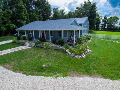 Madison County Single Family Home For Sale: 4387 West 8th Street Road
