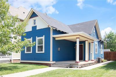 Indianapolis Single Family Home For Sale: 2033 North Central Avenue