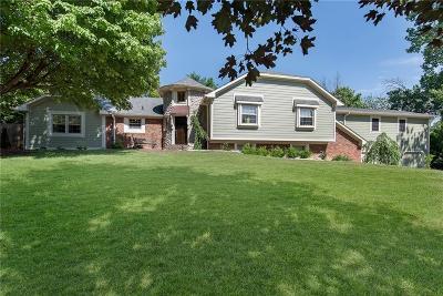 Carmel, Westfield Single Family Home For Sale: 9845 Cedar Point Drive