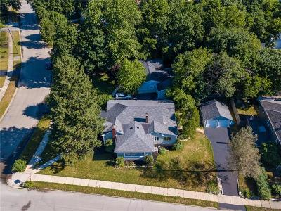 Indianapolis Single Family Home For Sale: 6301 North Delaware Street
