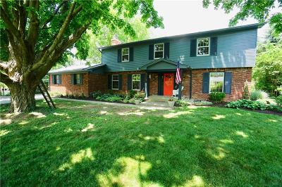 Indianapolis Single Family Home For Sale: 5718 East 75th Street