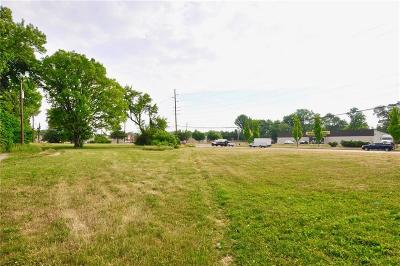 Indianapolis Commercial Lots & Land For Sale: 3742 North Keystone Avenue