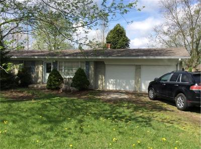 Brownsburg Single Family Home For Sale: 4190 North County Road 575 E