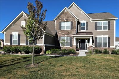 Fishers Single Family Home For Sale: 10041 McClarnden Drive