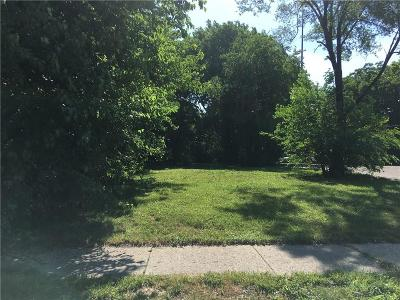 Indianapolis Commercial Lots & Land For Sale: 1513 Columbia Avenue