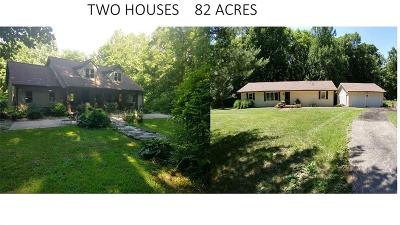 Putnam County Single Family Home For Sale: 8474/8590 South Co Rd 500 West