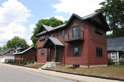 Indianapolis Single Family Home For Sale: 1402 Hoyt Avenue