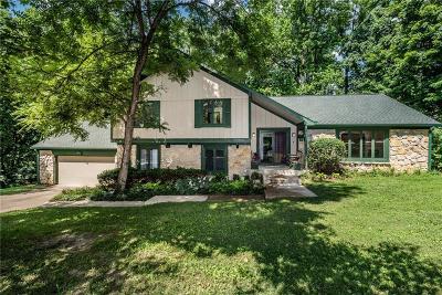 Single Family Home For Sale: 6840 Creekridge Trail