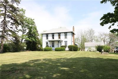 Sheridan, Fortville, Carmel, Noblesville, Atlanta Single Family Home For Sale: 22899 North Dunbar Road