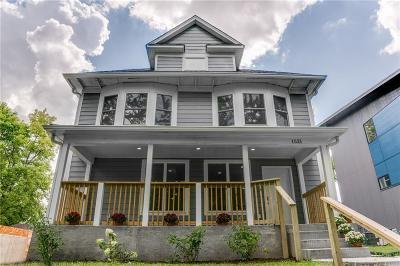 Indianapolis Single Family Home For Sale: 1521 Sturm Avenue