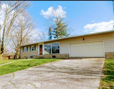 Delaware County Single Family Home For Sale: 1601 East County Road 1135 N