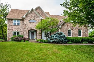 Fishers Single Family Home For Sale: 12515 Kelly Place