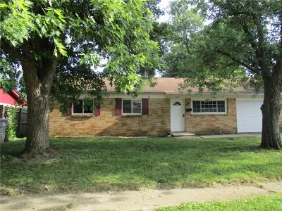 Indianapolis Single Family Home For Sale: 4137 Deborah Street