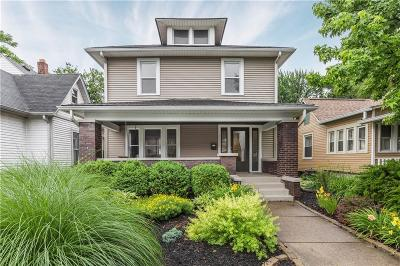 Indianapolis IN Single Family Home For Sale: $269,900