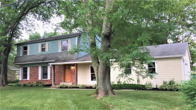 Carmel Single Family Home For Sale: 11417 Haverstick Road