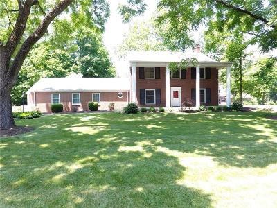 Indianapolis Single Family Home For Sale: 7444 Allisonville Road