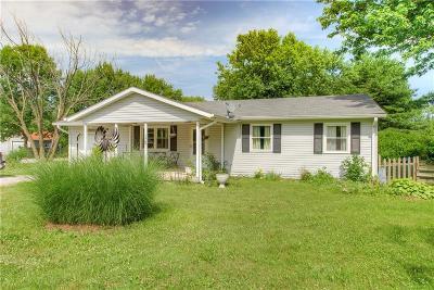 Danville Single Family Home For Sale: 1787 South County Road 150 E