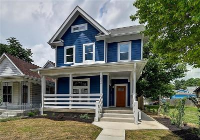 Indianapolis Single Family Home For Sale: 1532 Fletcher Avenue