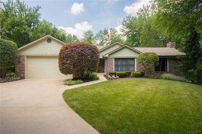 Indianapolis Single Family Home For Sale: 5440 North German Church Road