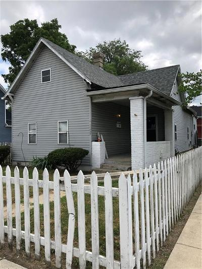 Indianapolis Single Family Home For Sale: 1237 South East Street