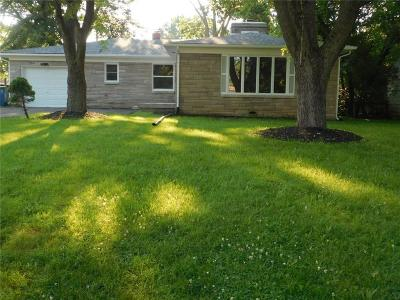 Lawrence Single Family Home For Sale: 4621 David Street