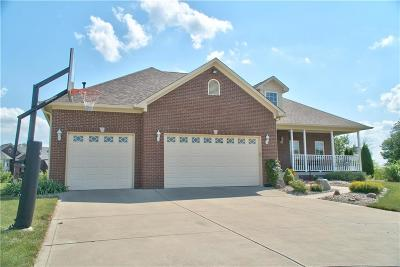 Plainfield Single Family Home For Sale: 3399 Keystone Pass