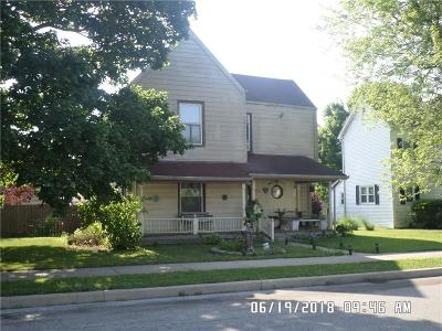 Alexandria IN Single Family Home For Sale: $49,900