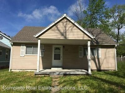 Indianapolis Single Family Home For Sale: 3020 South Roena Street