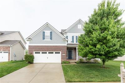 Zionsville Single Family Home For Sale: 6109 Golden Eagle Drive