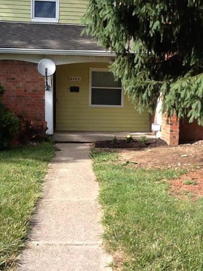 Indianapolis Condo/Townhouse For Sale: 6462 Commons Drive