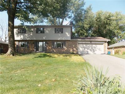 Indianapolis Single Family Home For Sale: 830 Fernwood Court