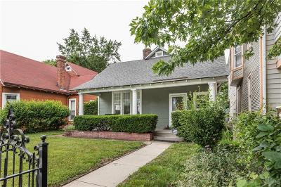 Indianapolis Single Family Home For Sale: 1722 North Delaware Street