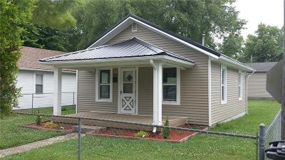 Rushville Single Family Home For Sale: 924 West Market Street