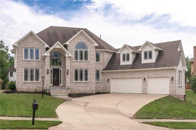 Indianapolis Single Family Home For Sale: 11609 Woods Bay Lane