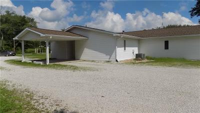 Greencastle IN Single Family Home For Sale: $127,500