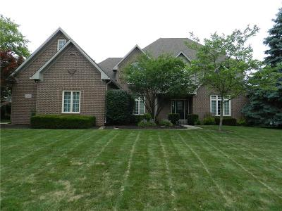Zionsville Single Family Home For Sale: 1462 Cricklewood Way