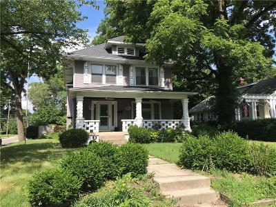 Indianapolis Single Family Home For Sale: 5602 North College Avenue
