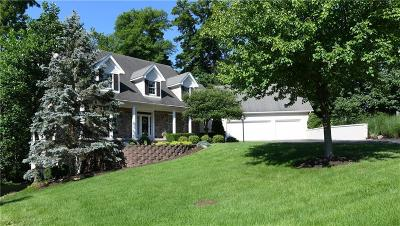 indianapolis Single Family Home For Sale: 12295 Ridgeside Road