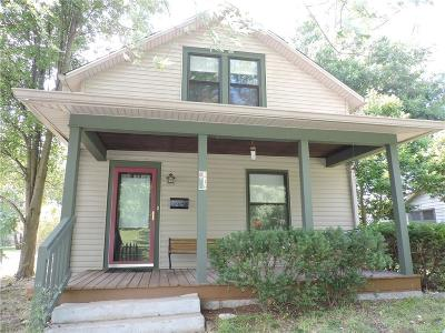 Plainfield Single Family Home For Sale: 216 North East Street