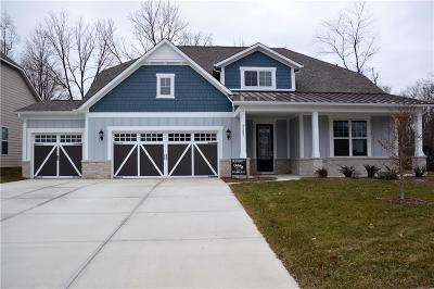 Fishers Single Family Home For Sale: 9587 Summerton Drive