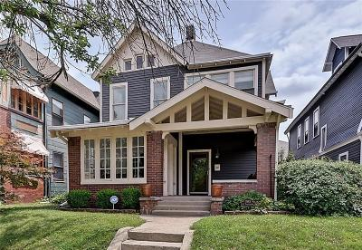Single Family Home For Sale: 1945 North Pennsylvania Street