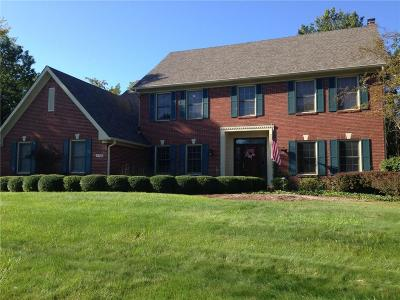 Indianapolis Single Family Home For Sale: 9012 Nautical Watch Drive