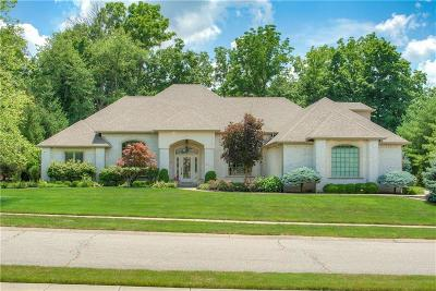 Indianapolis Single Family Home For Sale: 11 Forrests Edge Court