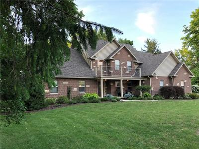 Delaware County Single Family Home For Sale: 8520 West River Road