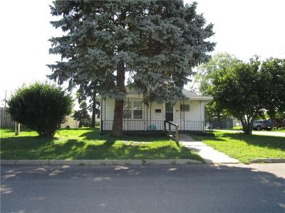 Rushville Single Family Home For Sale: 226 North Hannah Street
