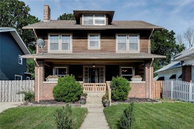 Single Family Home For Sale: 3228 North College Avenue